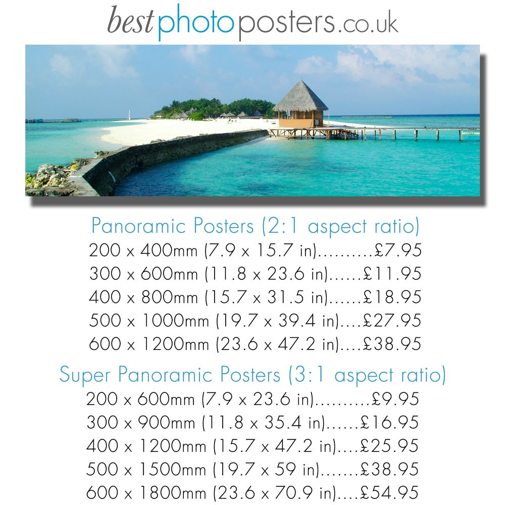 Panoramic Prints - Photos
