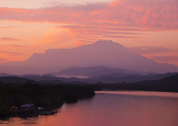 Borneo - Mount Kinabalu Sunrise