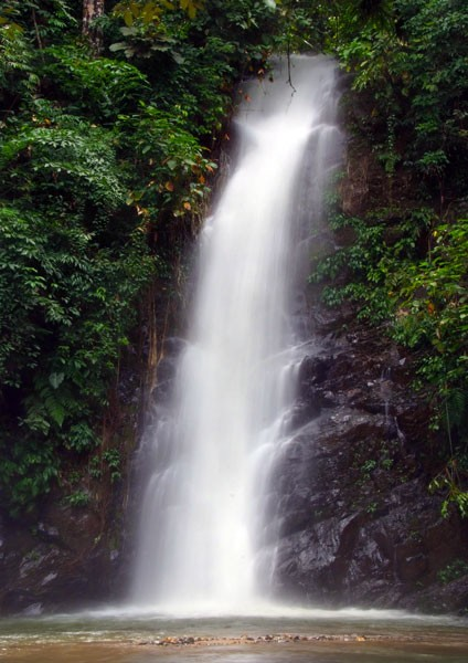 Waterfalls in Rainforests - Durian Perangin