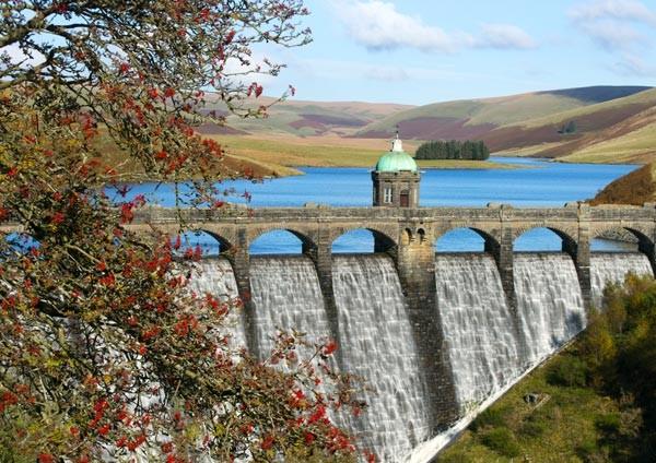 Gatehouse at Craig Goch - Elan Valley Dams