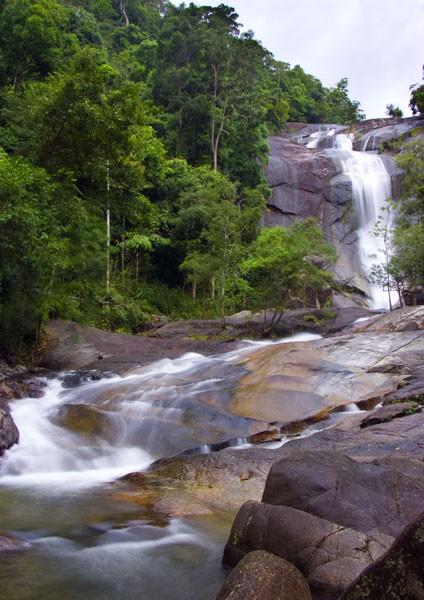 Malaysia Rainforest - Seven Wells Waterfall