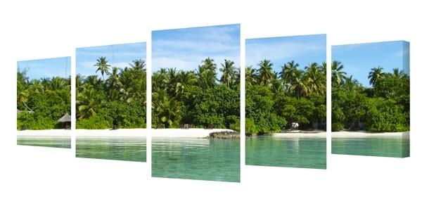 Splits - 5 Panel Panoramic Canvas Prints