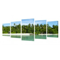 Splits - 5 Panel Panoramic Canvas Prints