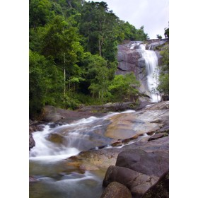 Malaysia Rainforest - Seven Wells Waterfall