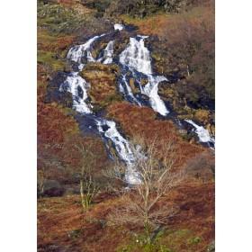 Snowdonia Waterfall - Autumnal Landscape
