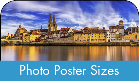 Photo poster size printing