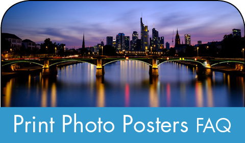 Print photo posters FAQ
