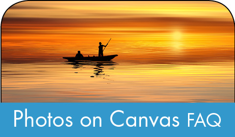 Photos on canvas FAQ
